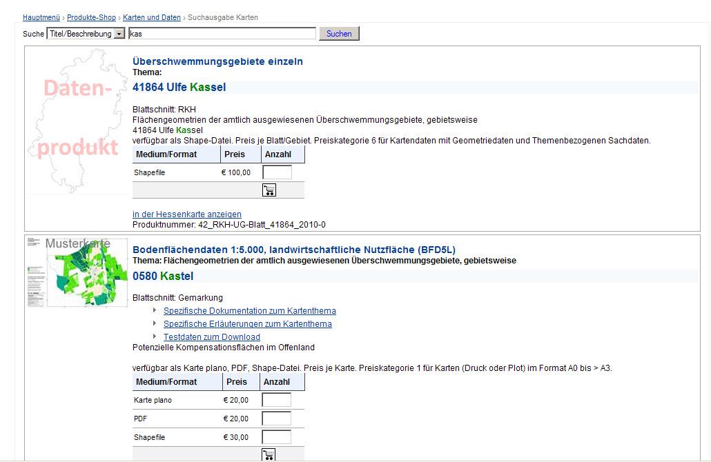 Hessisches Landesamt für Naturschutz, Umwelt und Geologie: Hilfe