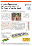 Creation of a geological high-resolution 3D-model for the city of Frankfurt/Main
